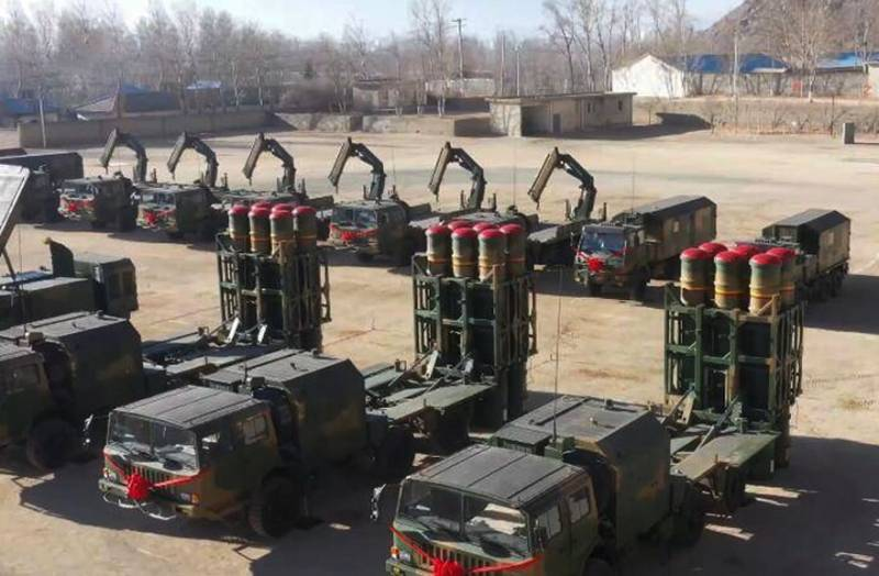 Очередная модернизация ЗРК «Штиль»: Новая партия комплексов HQ-16B пополнила 85-ю бригаду ПВО Китая в Тибете оружие