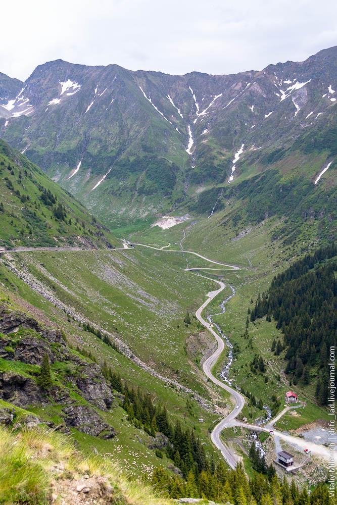 Трансфагараш - самая красивая дорога Европы