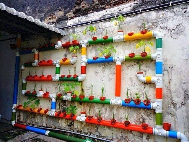 Идеи использования пластиковых труб ПВХ на дачном участке. . Обсуждение на Блоги на Труде