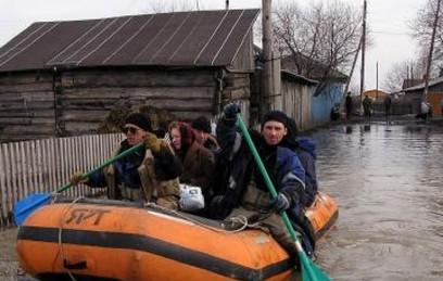 Талые воды подтопили 50 домов под Омском