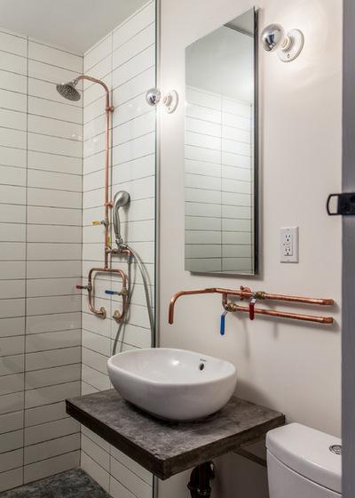 Современный Ванная комната by Co Adaptive Architecture PLLC