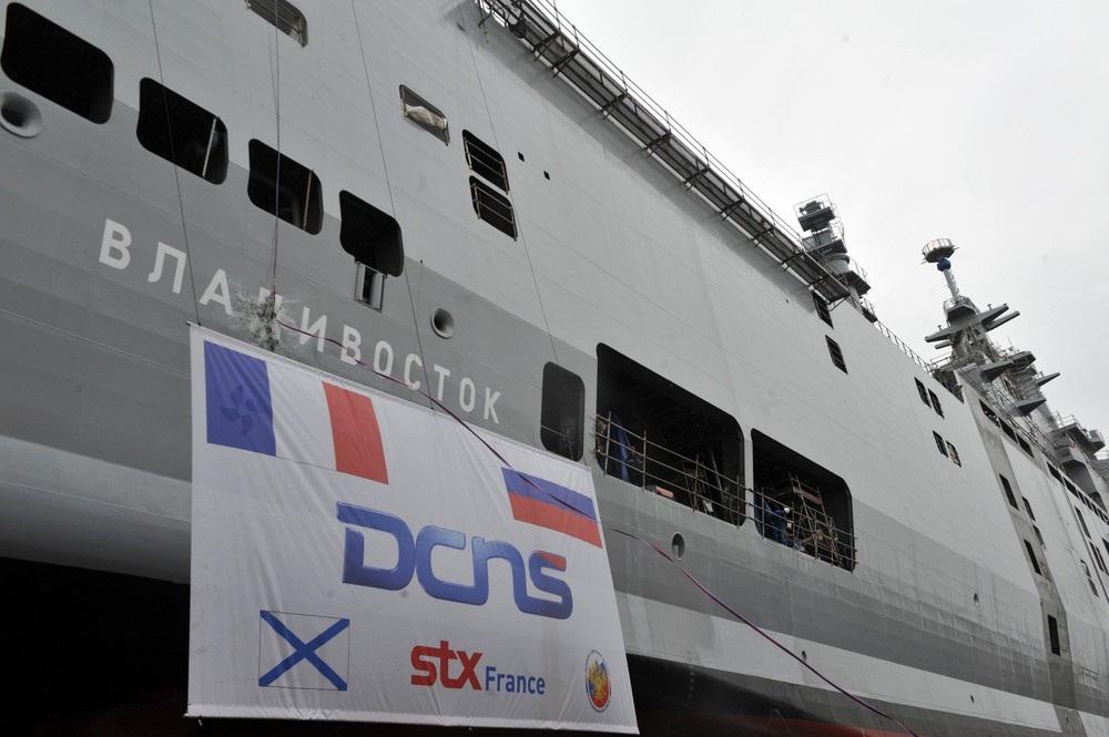 Франция затопила мистраль «Владивосток»