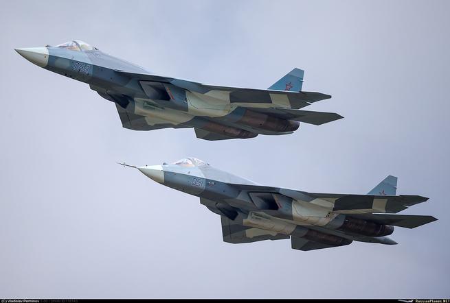 Су-57 прибыли в Сирию для ис…
