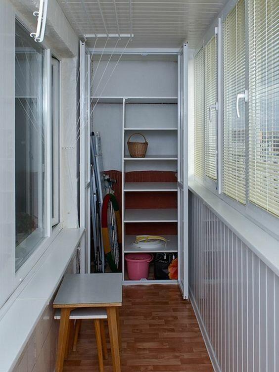 дома связано шкаф для узкого балкона фото множество