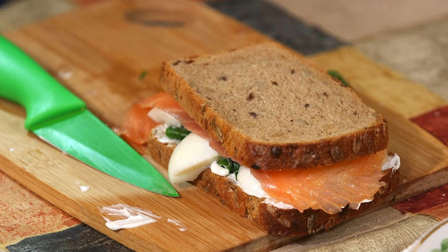 Творожный сэндвич