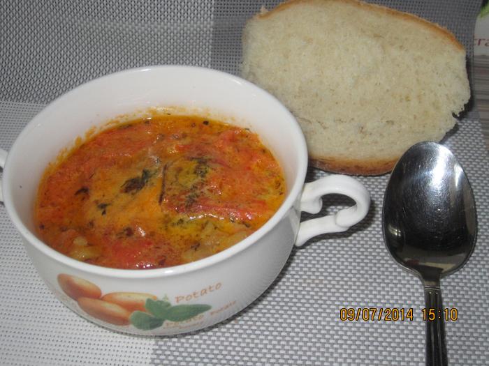 """Греческий быстрый острый суп """"Буюрди"""""""