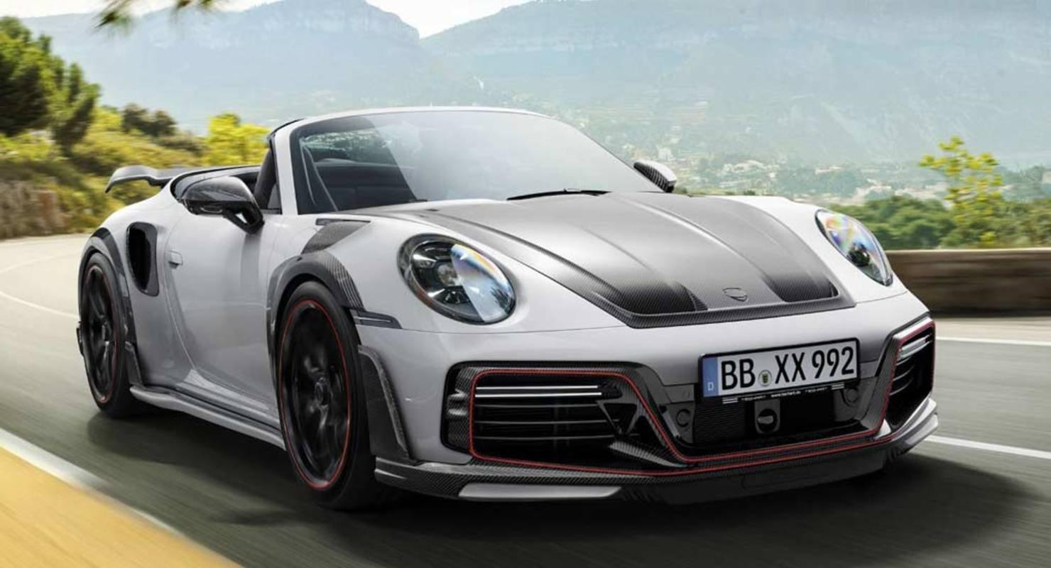 Кабриолет Porsche 911 Turbo получил модификацию GTstreet R от ателье TechArt Автомобили