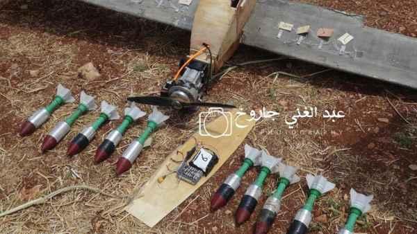 Над российской авиабазой Хмеймим при попытке атаки уничтожили два неизвестных боевых беспилотника сирия