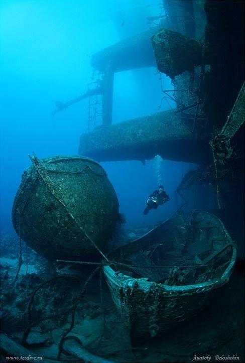 И конечно же корабли жизнь, затонувшие, под водой, страшно, техника, удивительно