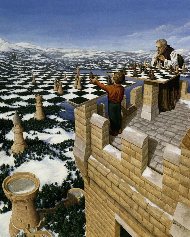 Психоделические оптические иллюзии