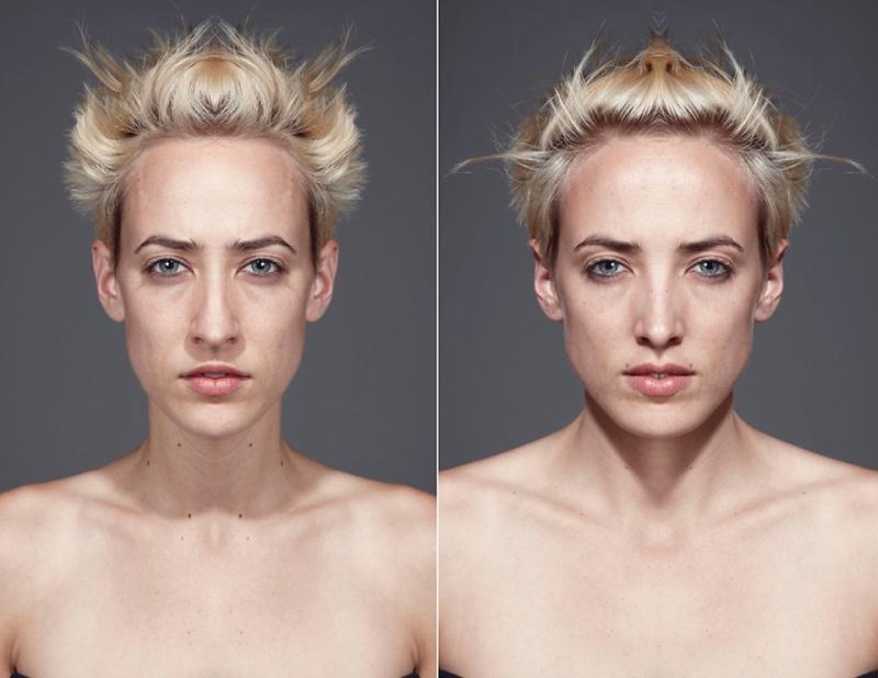 фотосессия симметричные лица вот спорте ингеборга