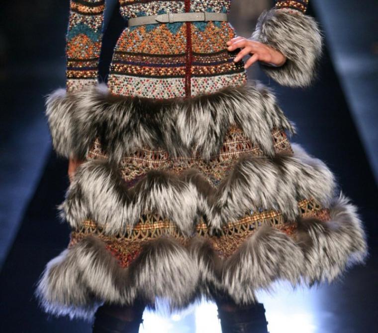 Исключительно удачные сочетания вязания и меха. Это просто восхитительно!