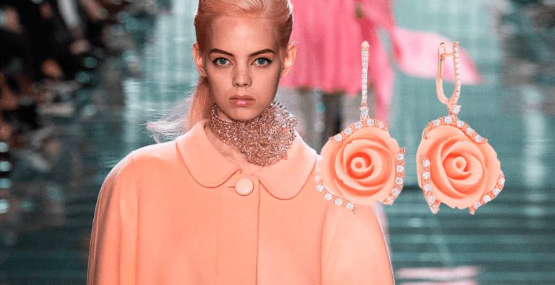 Самые модные цвета весны-2019 в ювелирных украшениях