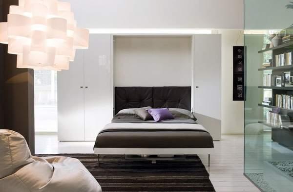 как расставить мебель в зале однокомнатной квартиры, фото 13