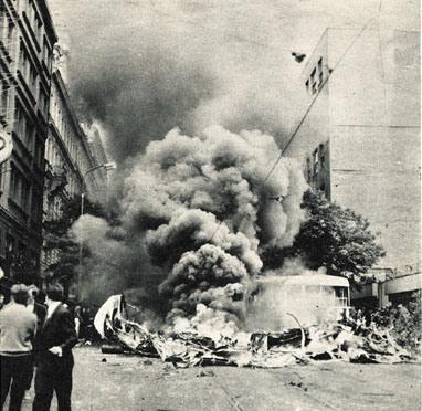 Роль стран НАТО в событиях в Чехословакии 1968 года