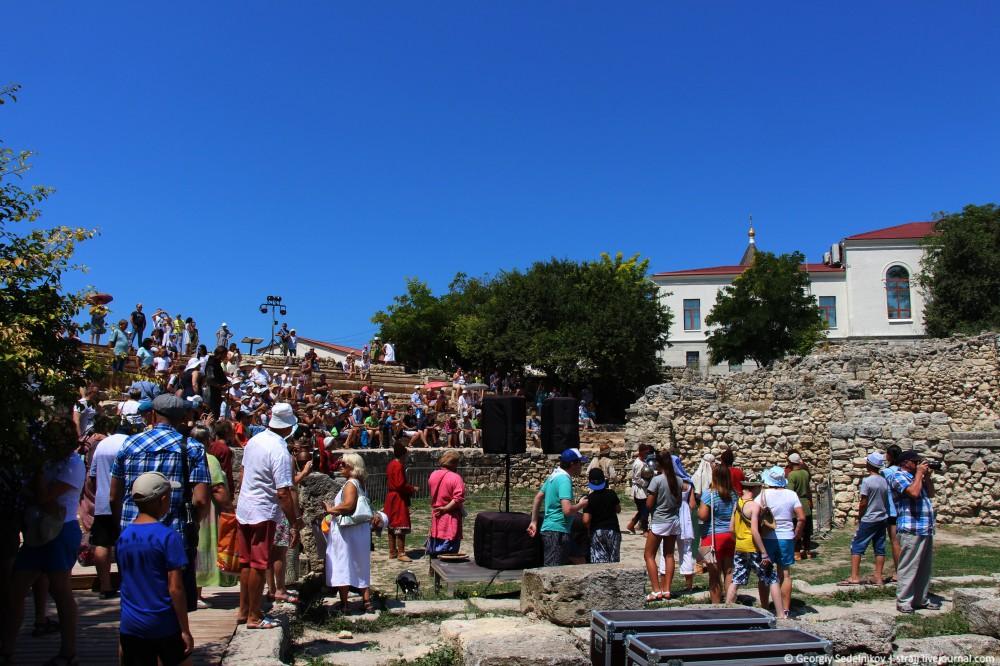 Фестиваль «Грифон» в Херсонесе