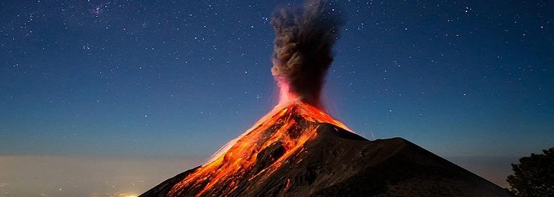 Вулкан Фуэго вошел в стадию …
