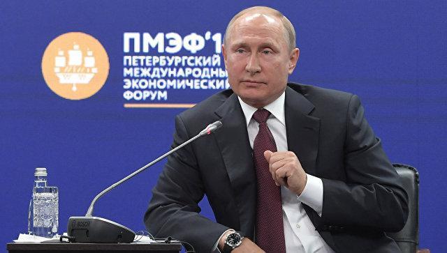 Путин запретил Западу переходить «красную черту»