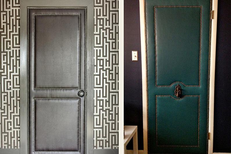 как обновить межкомнатные двери своими руками фото колоссальная