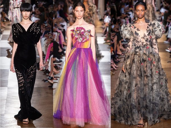 Самые красивые платья с недели Высокой Моды в Париже