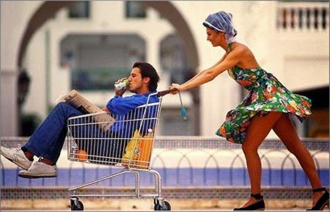 6. Желание окружить мужчину тотальным вниманием и заботой женщина, мужчина, отношение