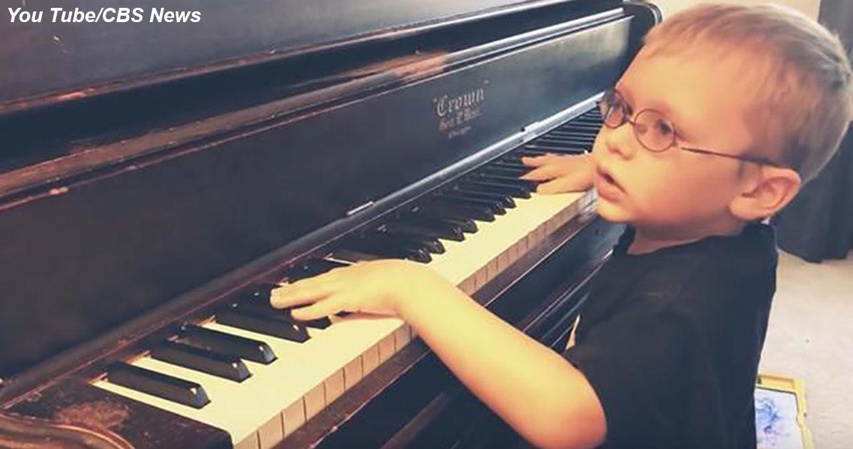 6-летний слепой вундеркинд сходит с ума от «Богемской рапсодии» и других хитов прошлого