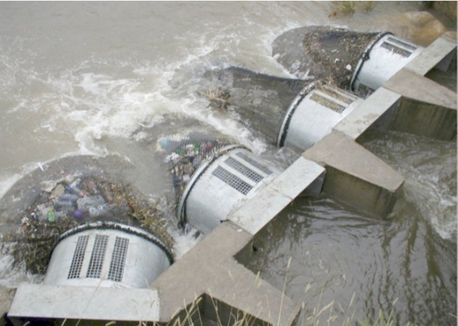 Специальные сети для защиты рек