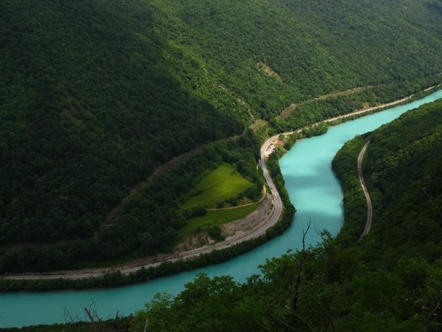 Река Соча красивые, реки