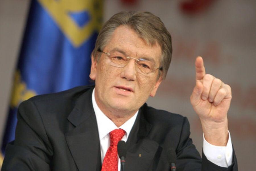 Ющенко заявил, что его сын пойдет воевать в Донбассе «с великой честью»