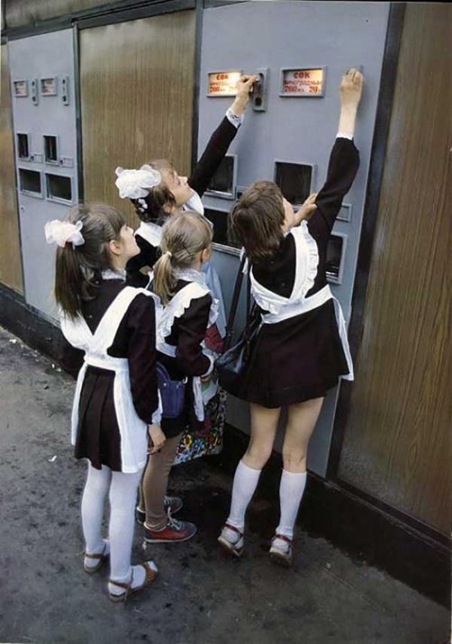 Потрясающие фотографии из далекого детства
