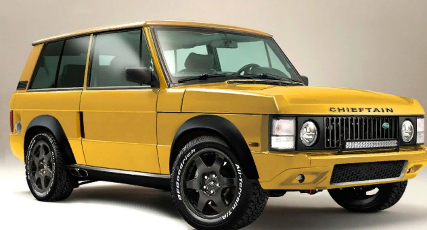 Chieftain представила 700-сильный рестомод Range Rover Xtreme Автомобили