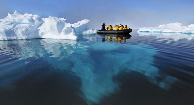 Под Антарктидой нашли огромную пустоту культура