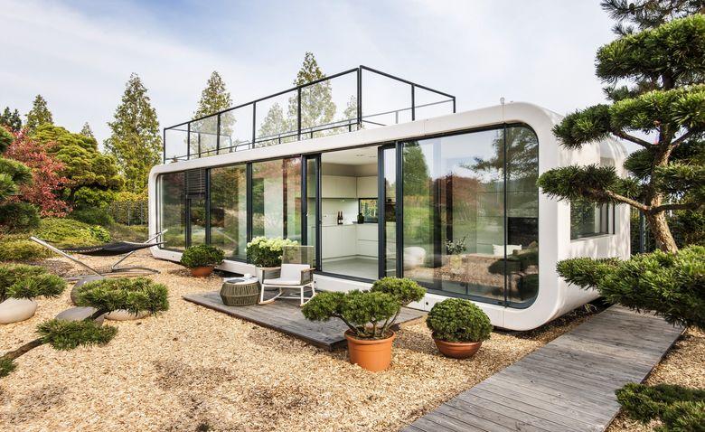 Дом за несколько часов: мобильное жилье будущего мобильный дом