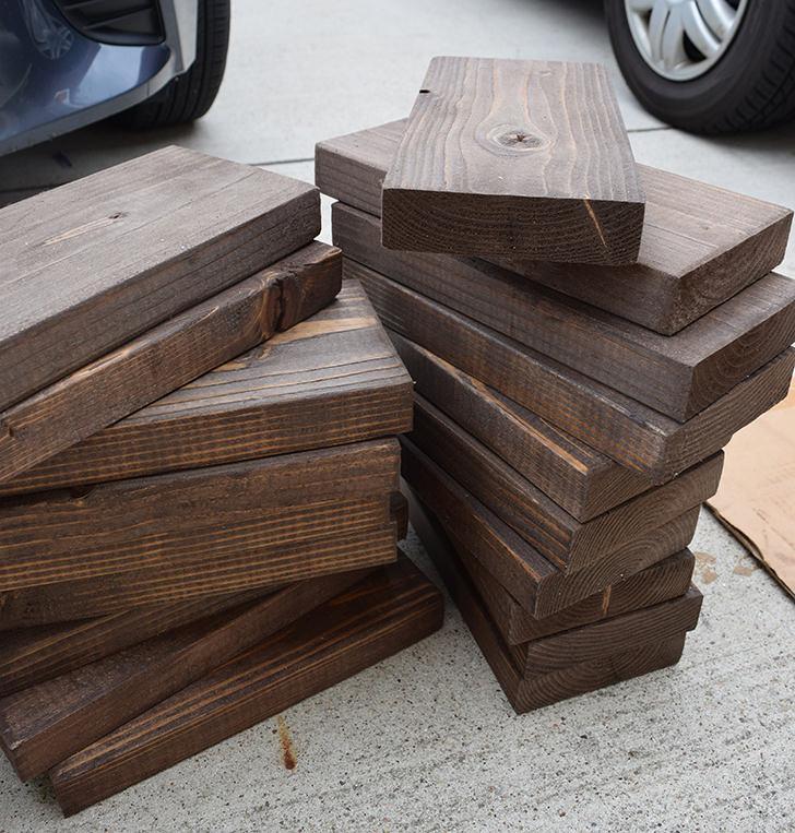 Как сделать гигантское домино своими руками дерево,мастер-класс