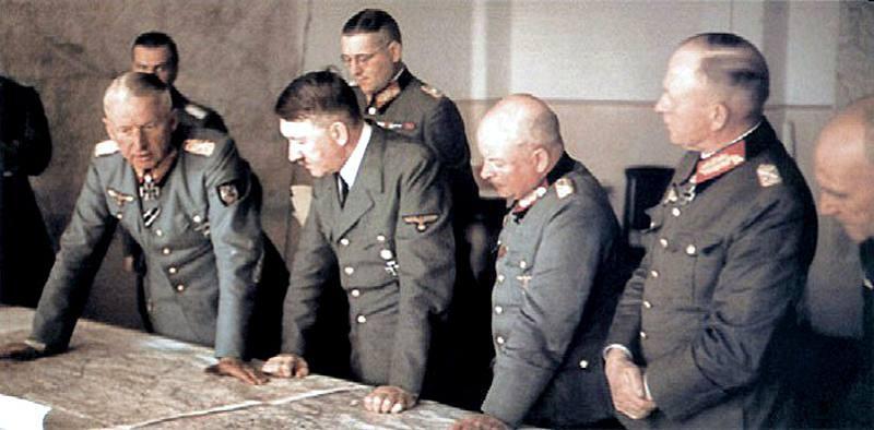 Эрих фон Манштейн: Эти коварные русские! 1941-й год