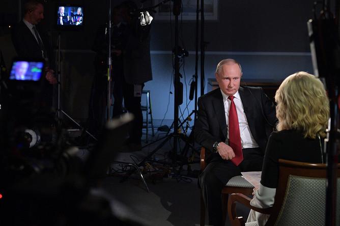 Интервью Путина телеканалу N…