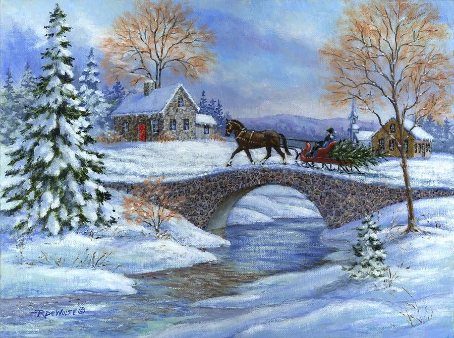 зимние пейзажи картинки декупаж важнейшая часть работы