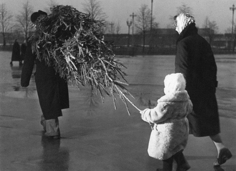Новый год в СССР 1950-х