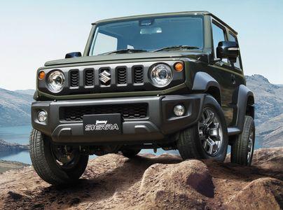 Новый Suzuki Jimny: объявлены технические характеристики