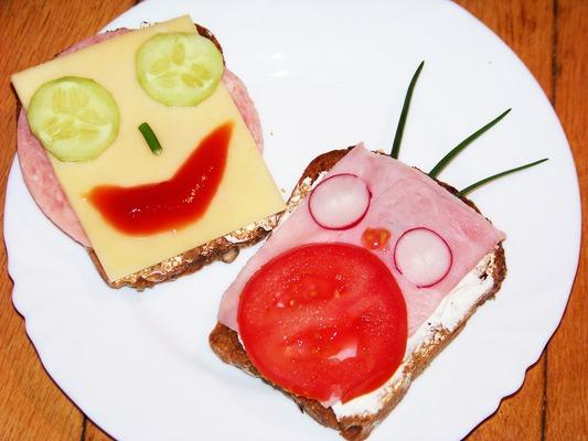 Смешные бутерброды