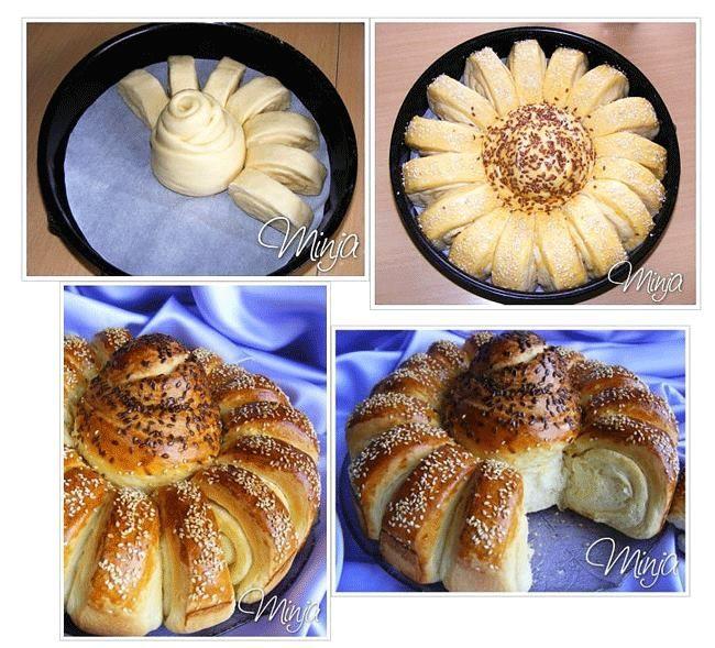 Как сделать красивые булочки…