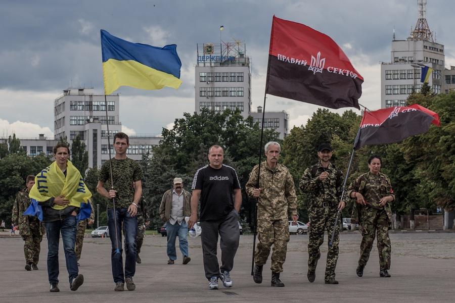 Украина: обострение на западном фронте