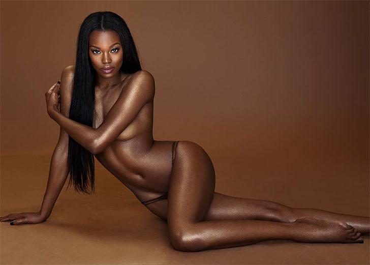 «Девушкой года» журнала Playboy стала темнокожая красавица
