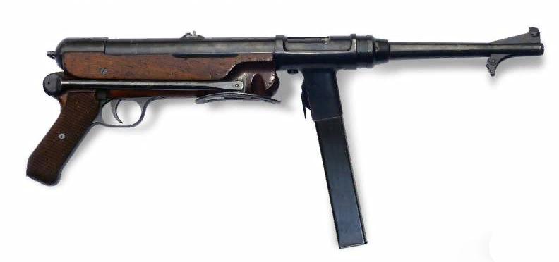Пистолет-пулемет Фольмера - ERMA EMP 36