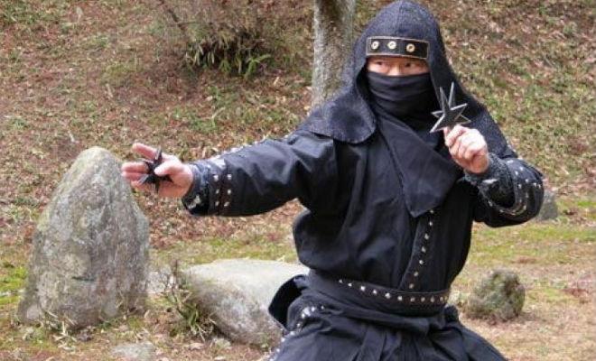 Настоящие ниндзя показали свои навыки. Силу шиноби сняли на камеру