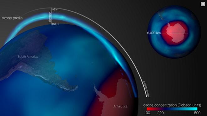 Озоновая дыра стала четверто…