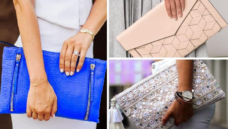 Сумка-конверт — идеальный вариант для бизнес-леди