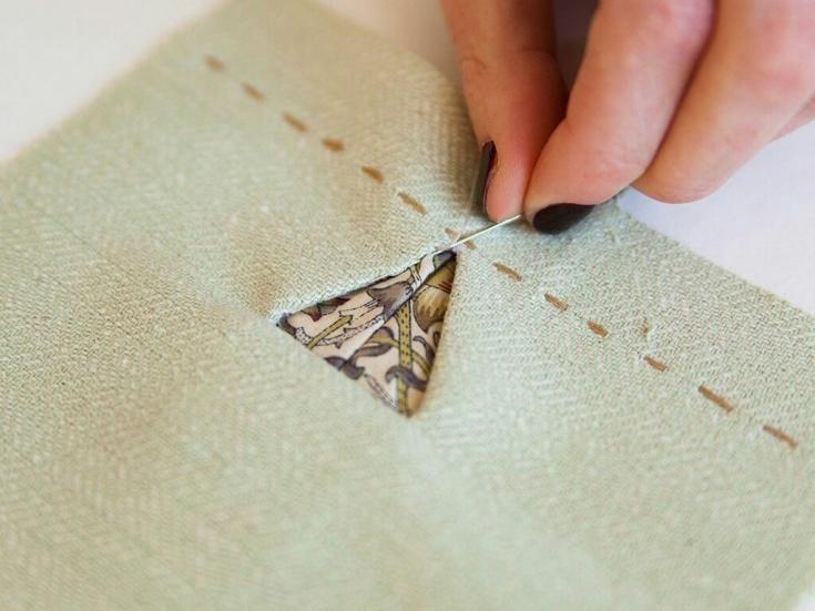 Треугольные петли петли,рукоделие,своими руками,сделай сам