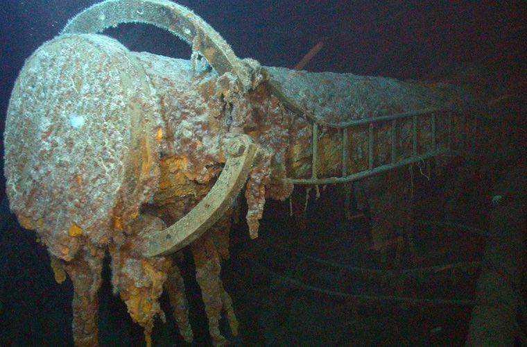 Находки с затонувших кораблей