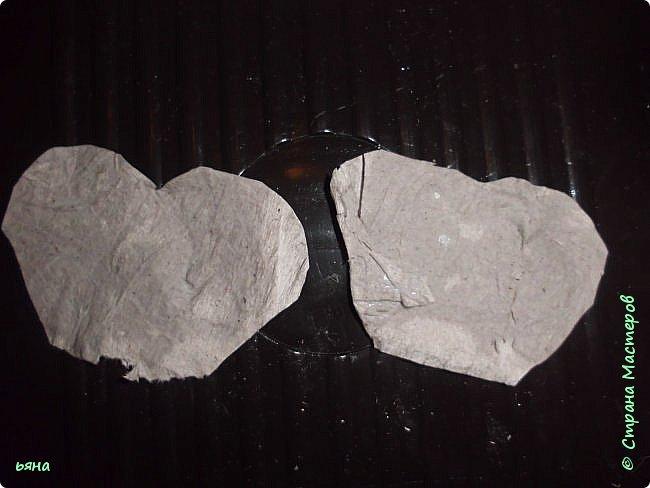 Мастер-класс Бумагопластика Кованая роза из туалетной бумаги Бумага Диски ватные Клей Краска Проволока фото 6